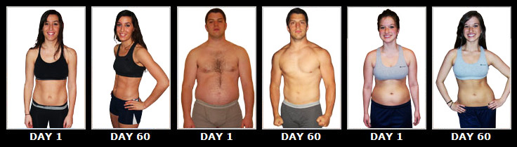 Insanity Before And After Women Abs Insanity training